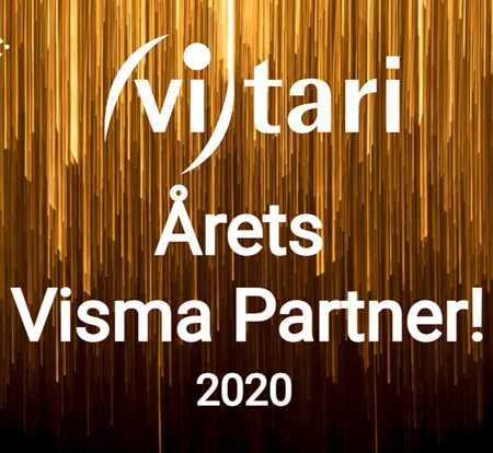 Årets Visma Partner for 5. år på rad!
